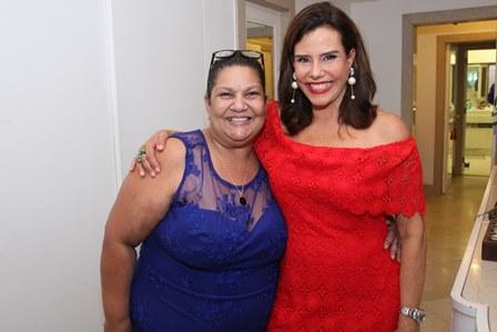 Telma Carvalho e Narcisa Tamborindeguy