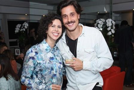 Cassia Vilas Boas e Ivan Mendes