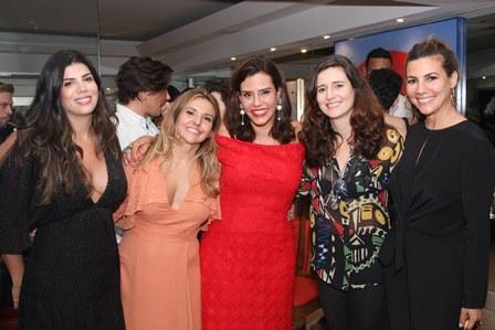 Ana Carolina Garcia, Fernanda Johannpeter, Narcisa, Mariana e Nicole Tamborindeguy