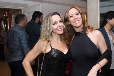 Dany Farah e Paula Guimarães