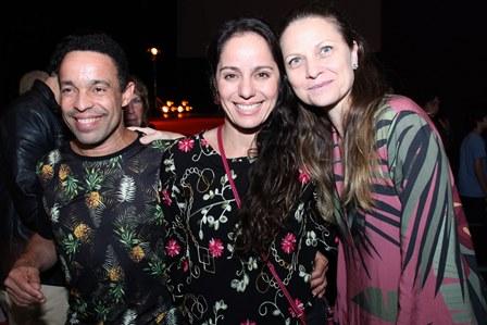 Edio Nunes,Claudia Mauro e Alexandra De Callafiori