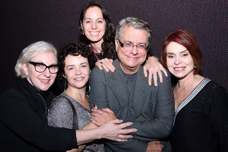 Lu Grimaldi,Luciana Braga,Flavio Marinho,Claudia Mauro e François Forton
