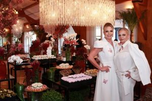 Nina Kauffmann e sua irmã Andrea Rebello