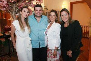 Vera Paula Salles,Carlos Lamoglia, Tania Pereira e Debora Rodrigues