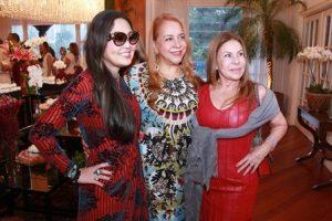 Monica Nakamura, Candida Virginia e Leilah Costa