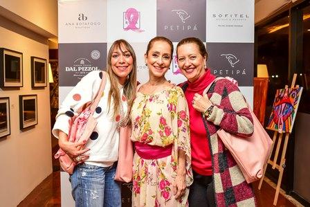 Ariana Sabatier, Ana Botafogo e Tanya Althea