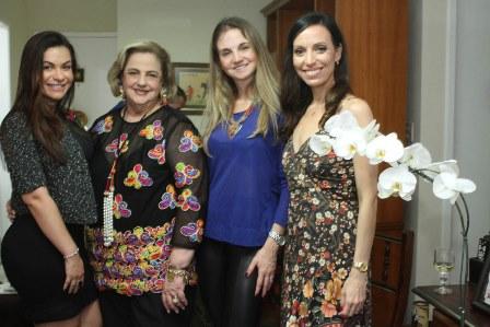 Bruna Castro, Cristina Aboim, Isabem Higashi e Claudia Mota