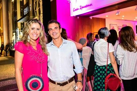 Bruna Barros e Victor Javier Studart