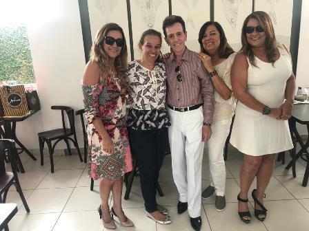 Com Gal Lopes, Maria Rita Carneiro Suzart, Eliana Carvalho e Conceição Carneiro