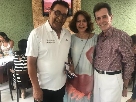 Com meus queridos amigos Cid Daltro e Solange Rodrigues