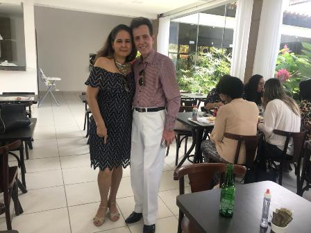 Com minha querida amiga a jurista Odejane Franco