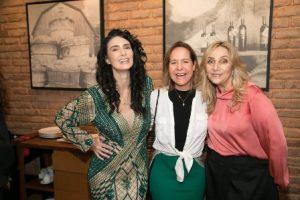 Cristiane Machado, Jaqueline Barreto, Angela Lemos