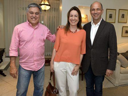 Luiz Augusto Barboza , Flavia Teichert  e Sérgio  Scodro
