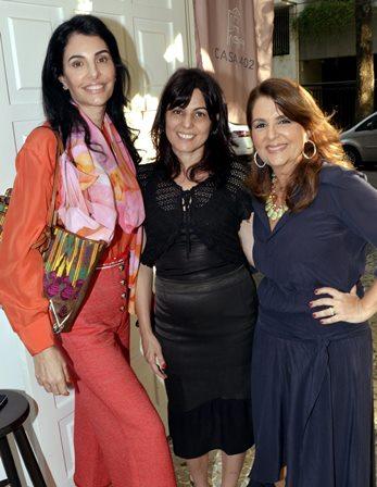 Antônia Frering , Tita Nigrí e Martha Scodro