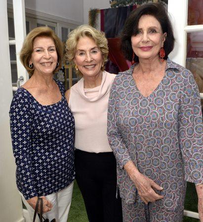 Dulce Martins , Cyrene Leonardo e  Carmen Silva