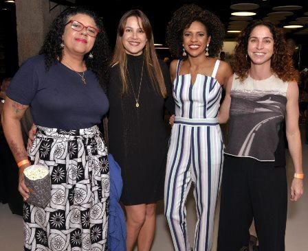 Natara Ney ,  Alice Borges , Luciana Barreto e Rosane Svartman