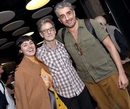 Veronica Debom , Victor Lopes e Michel Melamede