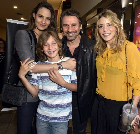 Fernanda Tavares , Murilo Rosa , Lucas e Christine Fernandes