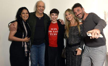 Fernanda Passos , Erasmo Carlos , Adriana Calcanhotto e Dani e Léo Esteves