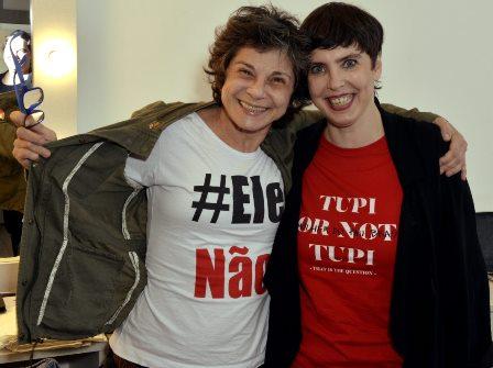 Cristina Granato e Adriana Calcanhotto