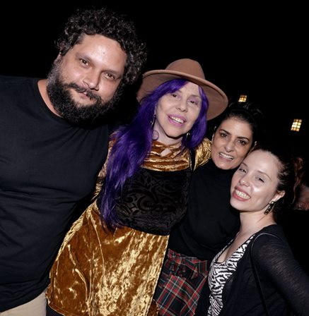 Rafael Ramos , Baby do Brasil , Fernanda Abreu e Zabelê