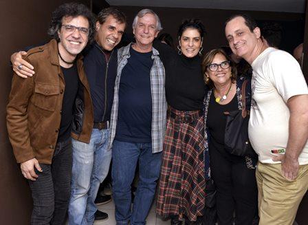 Moska , Evandro Rius , João Augusto , Fernanda Abreu , Monica Ramos e Rodrigo Faour