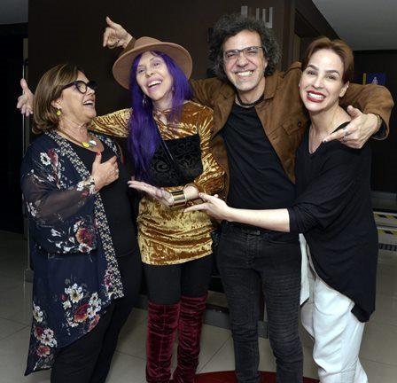 Mônica Ramos , Baby do Brasil , Moska e Larissa Bracher