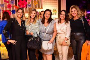 Daniela Oscar, Nicole Ofeiche, Marcelle Medeiros, Luciana Josetti e Katia Cohen