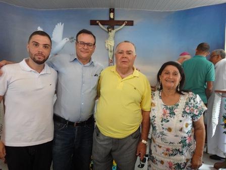 Gabriel Soares, Antono Carlos Borges Junior, Sebastiõ e Cinira Soares