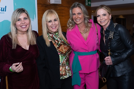 Giselle Farinhas, Marisa Araujo, Marcia Veríssimo, Nina Kauffmann