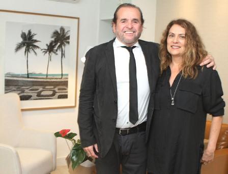 Dr. Carlos Henrique Bitencourt e Patricia Travasso