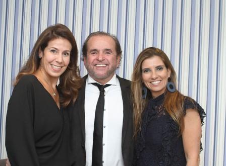 Maristela Carvalho, Henrique Bitencourt e Carla Mesquita