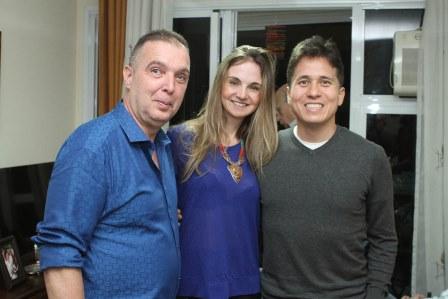 Baiard Boiteux, Isabel e Rafael Higashi