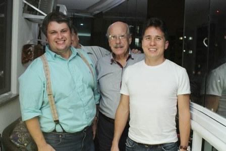 Claudio Castro, Claudio Aboim e Rafaek Higashi
