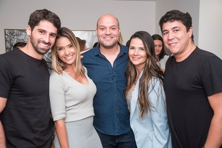 JC Lopes Rachel Abreu  Felipe Fiorentino Erika Abreu e Diogenes Queiroz
