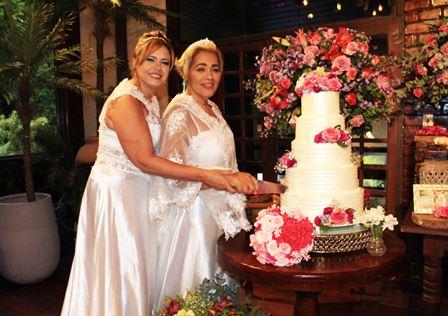 Liliane Ribeiro e Miriam Gomes