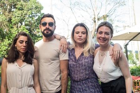 Lina Mancuso Feliep Santos e Aline Moniz e Susana Almeida