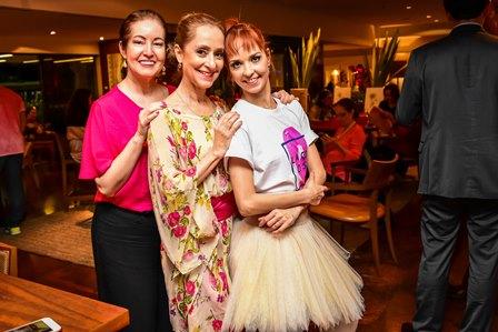 Luh Fernandez, Ana Botafogo e Rakel Ribeiro