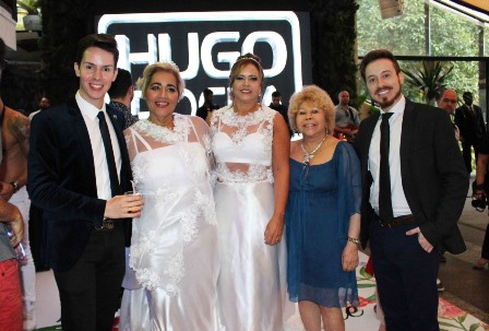 Gustavo Coli,Miriam ,Liliane ,Lalá Fernandes e Fábio Siqueira