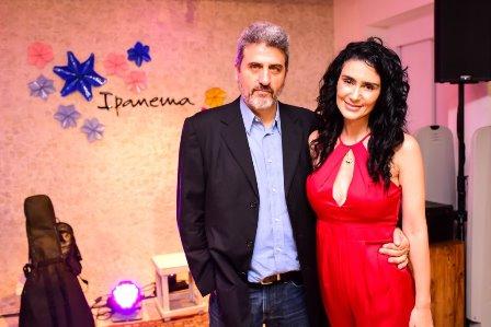 Sergio Schiller e Cristiane Machado