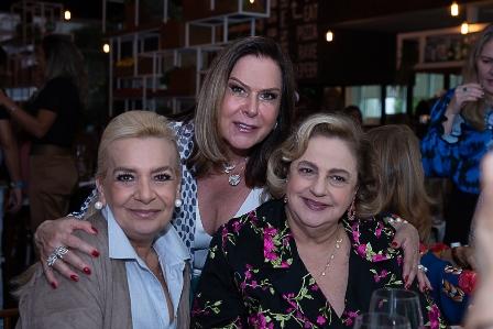 Vera Bangel, Dirce Motta, Cristina Aboim